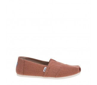 scarpe slip-on uomo washed-canvas 10010832 colore marrone