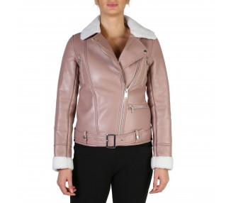 giacca donna guess w84l60 colore rosa