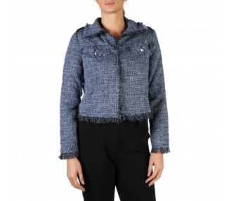 giacca donna guess w82n30 colore blu