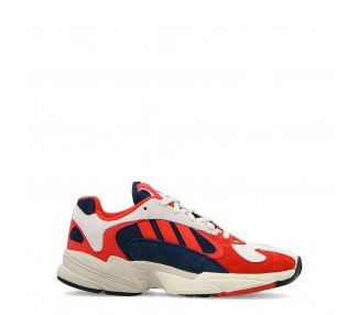 scarpe sneakers uomo tipologia adidas yung-1 colore rosso
