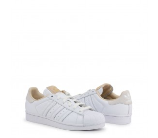 scarpe sneakers adidas superstar colore bianco