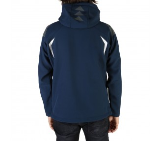 giacca uomo geographical norway techno man polyester colore blu chiusura zip