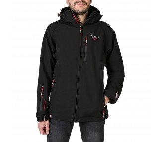 giacca uomo geographical norway taboo man polyester colore nero chiusura zip
