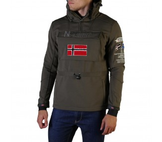 giacca uomo geographical norway terreaux man polyester colore verde