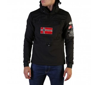 giacca uomo geographical norway terreaux man polyester colore nero