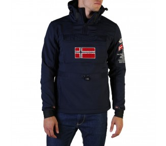 giacca uomo geographical norway terreaux man polyester colore blu