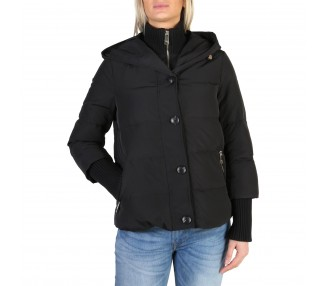 giacca donna tommy hilfiger ww0ww20165 polyester colore nero