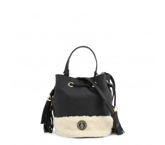borsa donna tommy hilfiger aw0aw03159 pelle colore nero