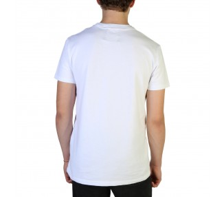 t-shirt uomo superdry m1000005a cotone colore bianco