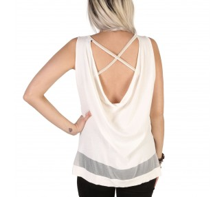 top donna guess 72g544 5311z bianco