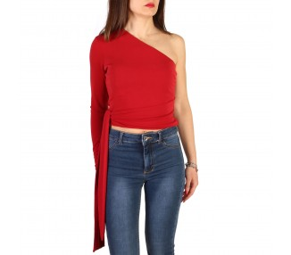 top donna guess 71g609 6230z rosso