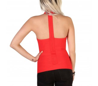 top donna guess 82g524 5427z rosso