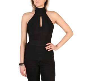 top donna guess 82g524 5427z nero