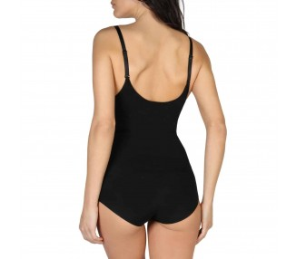 body modellante donna bodyboo bb1040 nero