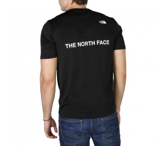 t-shirt uomo the north face nf0a4cfg nero