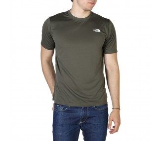 t-shirt uomo the north face nf0a4cfg verde