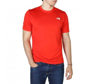 t-shirt uomo the north face nf0a4cfg rosso