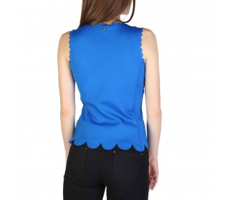 top donna armani exchange 3zym89yjj2z blu
