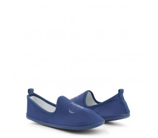 scarpe slip-on donna calvin klein tracy re9729 blu punta tonda