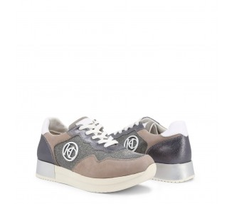 scarpe sneakers donna henry cottons hayling grigio