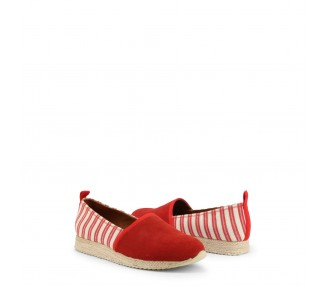 scarpe slip-on donna henry cottons greater 161w740110 rosso