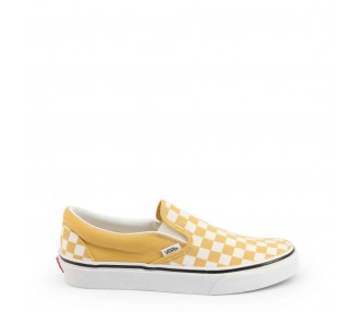 scarpe slip-on uomo donna vans classic-slip-on vn0a38f7 marrone punta tonda