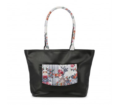 shopping bag donna laura biagiotti lb18s258-3 nero