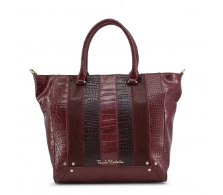 Borsa shopping bag donna renato balestra ivy-rb18w-101-3 pelle sintetica rosso