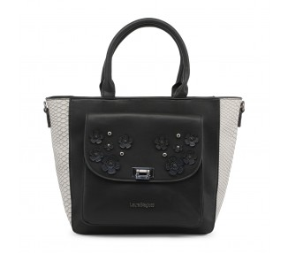 Borsa shopping bag donna laura biagiotti lb18s114-5 pelle sintetica colore nero