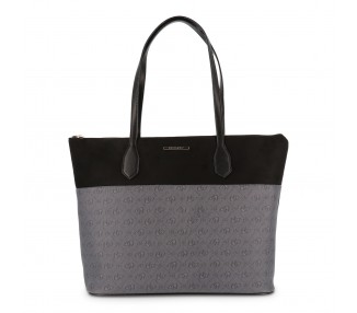 borsa shopping bag donna blu byblos holdme 685753 colore nero