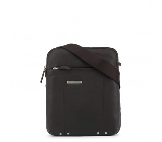 borsa a tracolla piquadro ca1591x2 pelle colore saddlebrown