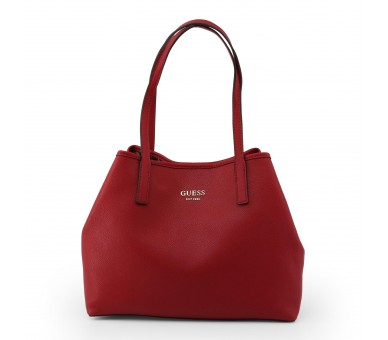 borsa shopping bag donna guess hwvg69 95230 pelle sintetica colore rosso