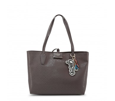 borsa shopping bag donna guess hwsg71 81150 pelle sintetica colore grigio