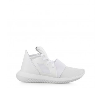 scarpe sneakers donna adidas tubular defiant colore bianco