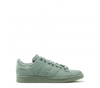 scarpe sneakers donna adidas stansmithw colore verde