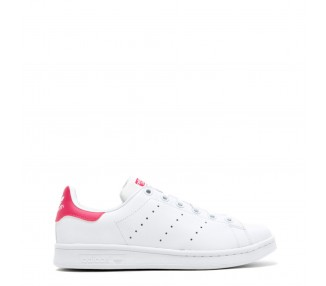 scarpe sneakers donna adidas stansmith pelle colore bianco