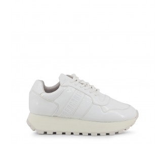 scarpe sneakers donna bikkembergs fend-er 2087-patent colore bianco