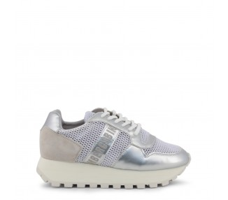 scarpe sneakers donna bikkembergs fend-er 2087-mesh colore bianco