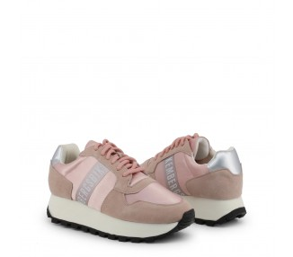 scarpe sneakers donna bikkembergs fend-er 2087 colore rosa
