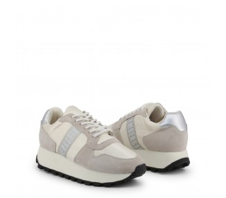 scarpe sneakers donna bikkembergs fend-er 2087 colore bianco