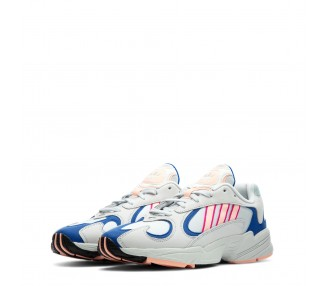scarpe sneakers unisex adidas yung-1 colore bianco